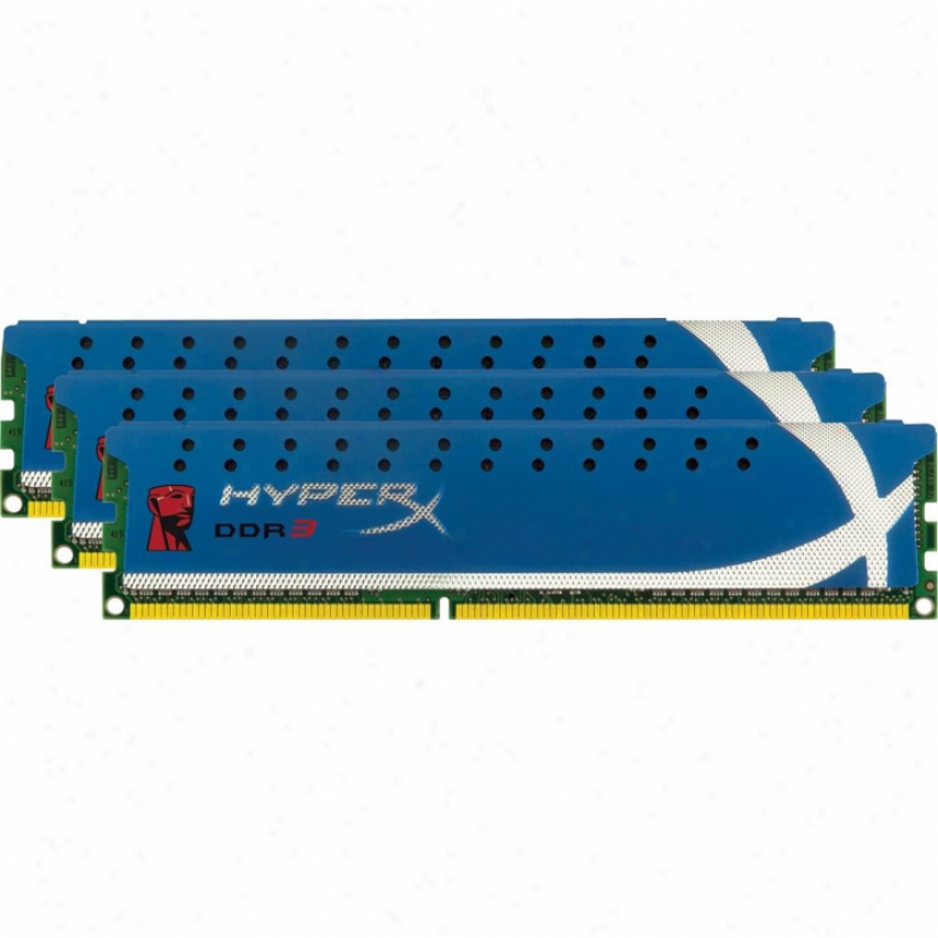 Kingston Hyperx 12gb (3x4gb) 240-pin Ddr3 Desktop Memory - Khx1600c9d3k3/12gx