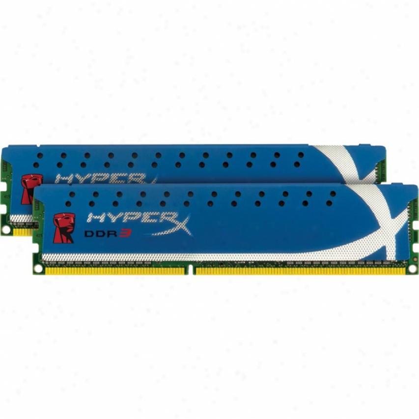 Kingston Hyperx 8gb (2x4gb) 240-pin Ddr3 Desktop Memory - Khx1600c9d3k2/8g