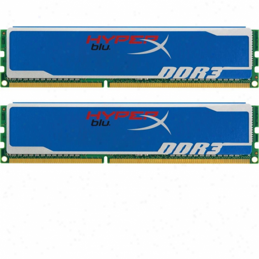 Kingston Hypdrx Blu 8gb (2x4gb) Ddr3 Sdram Desktop Memory - Khx1600c9d3b1k2/8gx