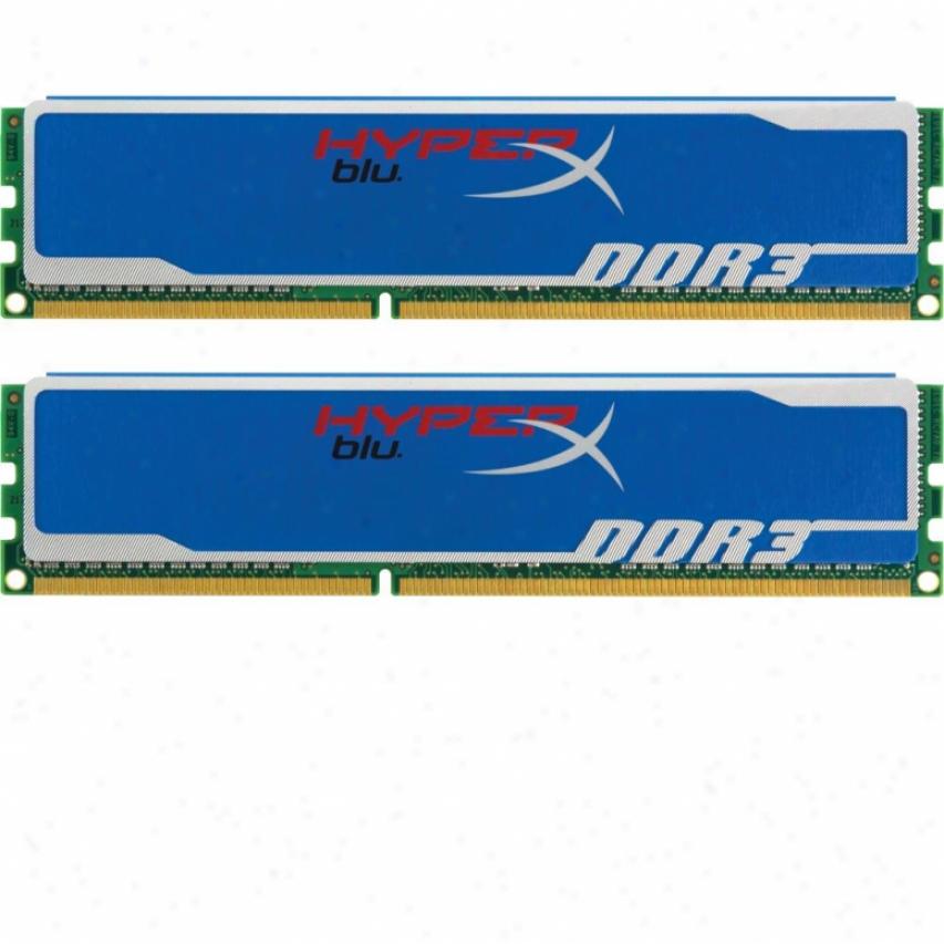 Kingston Hypdrx Blu 8gb (2x4gb) Ddr3 Sdram Desktop Memory - Khx1600c9d3b1k2/8gx