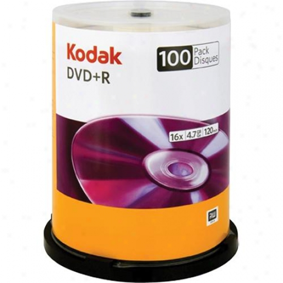 Kodak Dvd+r Blank Recordable Dvd Package 50600