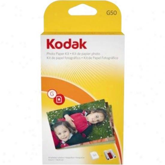 Kodak Photo Paper Kit ( 50 Pack )