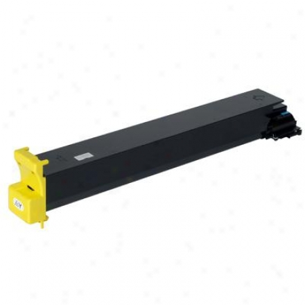Konica Mc7450 Toner Yellow 120v