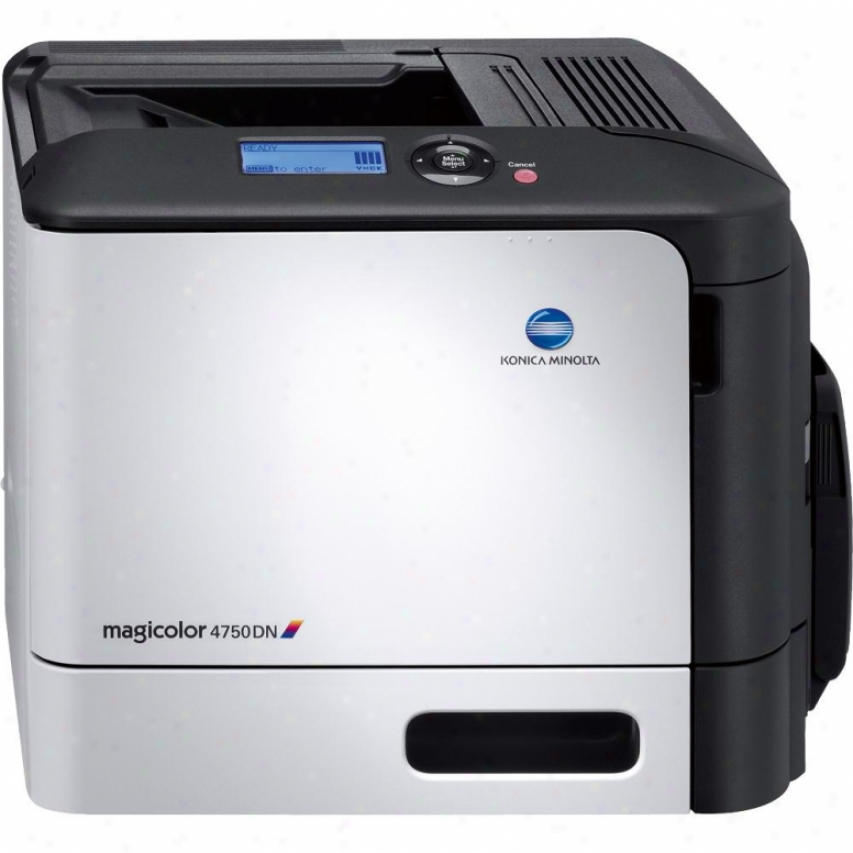 Konica Minolta Magicolor 7450dn Duplex Color Laser Printer