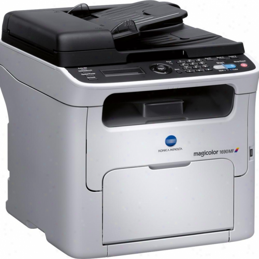 Konica Minolta Mc1690mf Magicolor 1690mf Laser Multifunction Printer