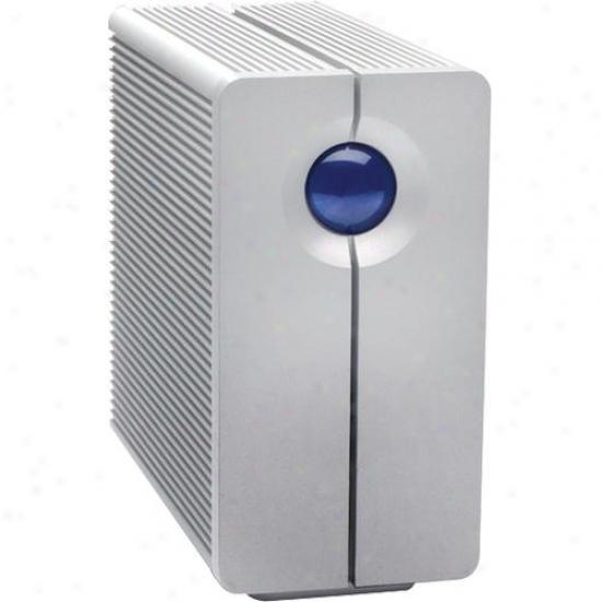 Lacie 301352u 2tb 2big Quadra (2-disk Raid) External Firm Drive