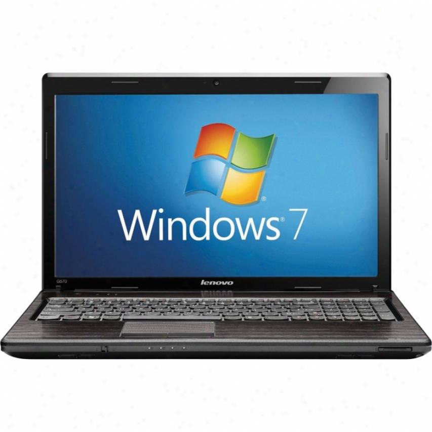 """Lenovo G570 15.6"""" 500gb I5 Win7 Hp64"""