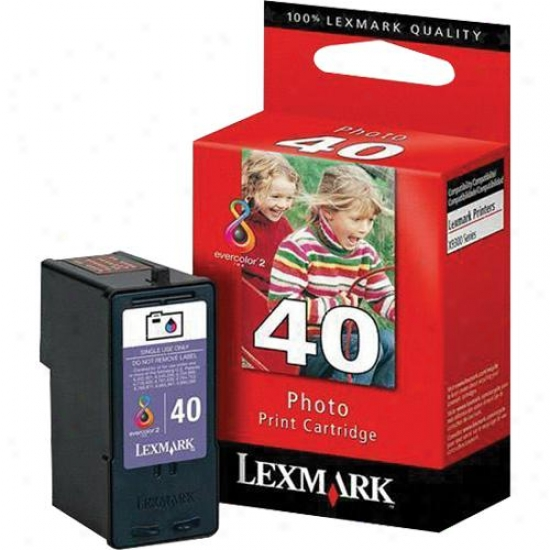 Lexmark 18y0340 40 Photo Ink Cartridge