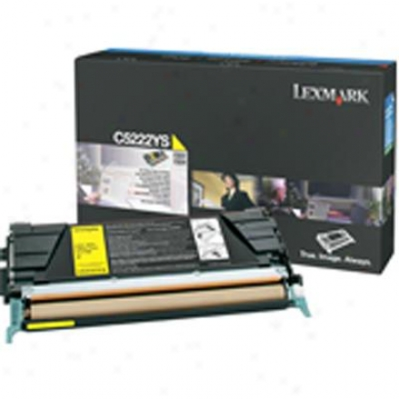 Lexmark 4000 Page Yellow For C530dn