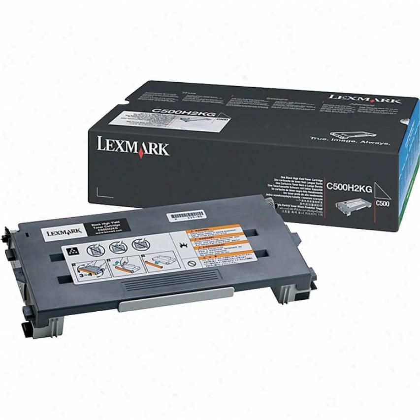 Lexmark C500n Black Hibh Yield Toner