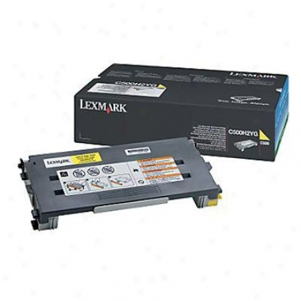 Lexmark C500n Yellow High Yield Toner