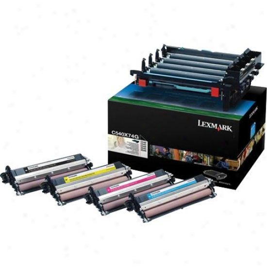 Lexmark C54x, X54x Black And Color Imaging Kit - C540x74g