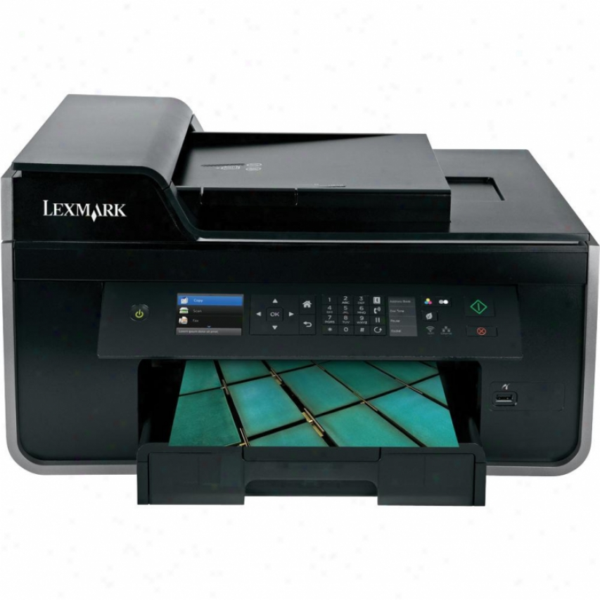Lexmark Poo715 Wireless All-in-one Inkjet Printer - 90t7110