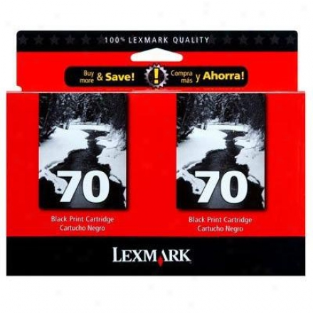 Lexmark Twin-pack #70 High Res. Black