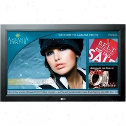 """Lg 37"""" Class Commercial Widescreen Lcd Monnitor - M3704ccba"""
