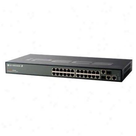 Lg-ericsson Usa 24-port 10/100mbps Mgd Switch