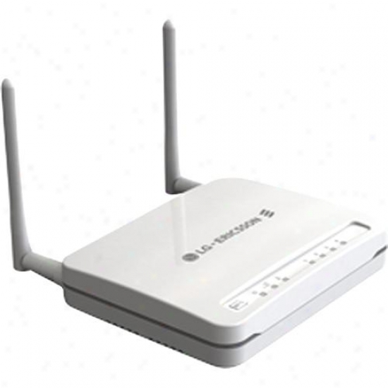 Lg-ericsson Usa Wireless N Broadband Router Wbr-3020