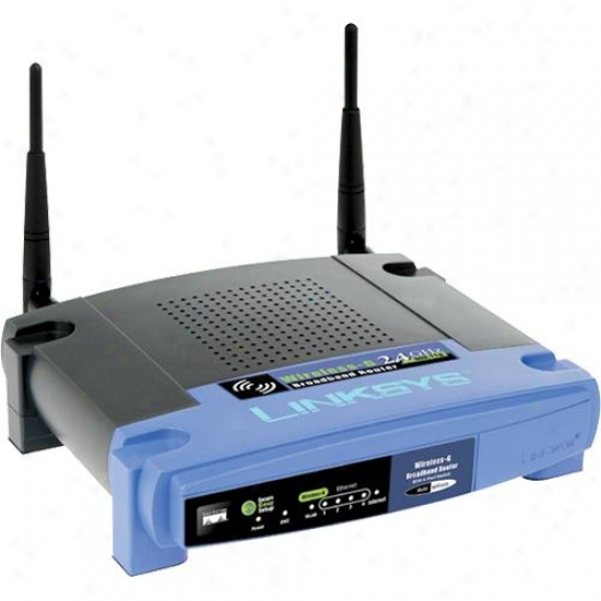 Linksys Wrt54gl Wireless-g Broadband Router With Vpn