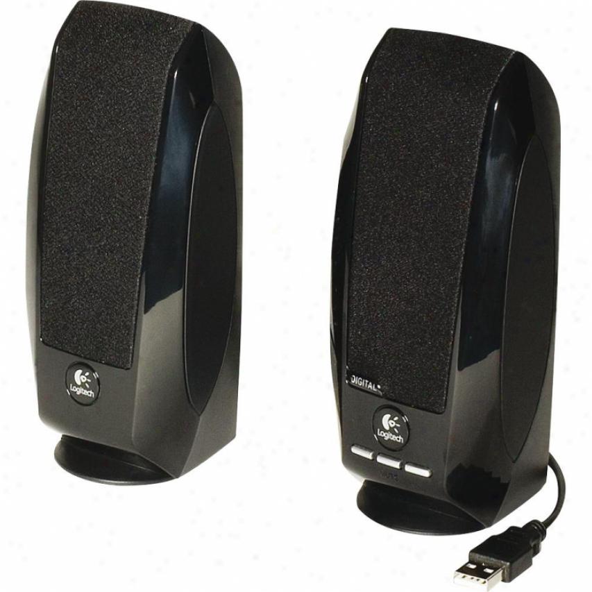 Logitech 980-000028 S-150 Usb Digital Speaker System For Notebook