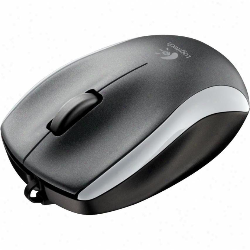 Logitech M125 Mouse Blk