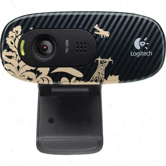 Logitech Webcam C270 - Victorian Wallpaper - 960-000817
