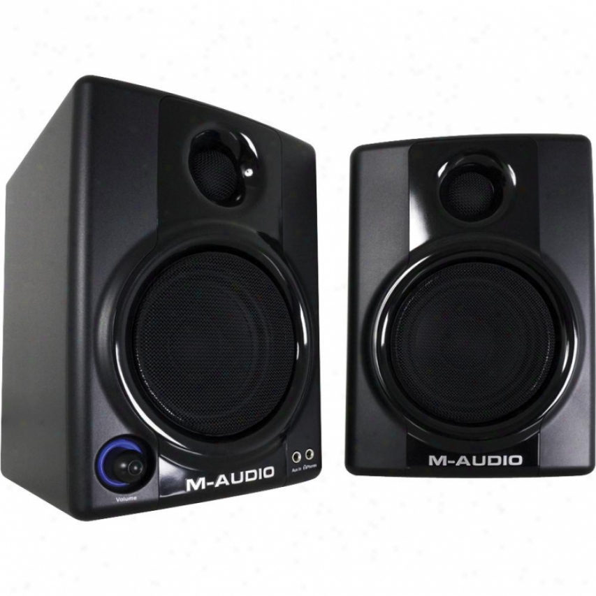 M-audio Av 30 Compact Monitor Speakers - 9900-65139-00