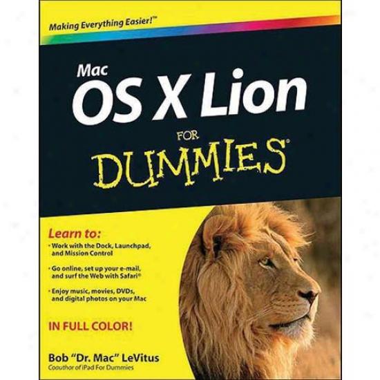 Mac Os Lion X For Dummies