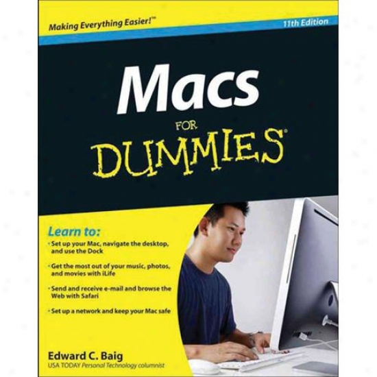 Macs For Dummies - 11th Edition