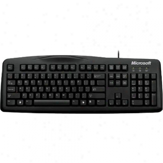 Microsoft Wired Keyboard 200 Black