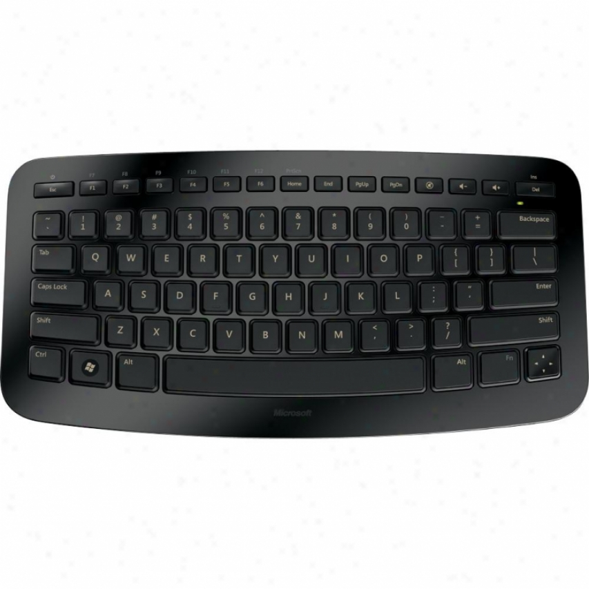 Microsoft Wireless Arc Keyboard - Black