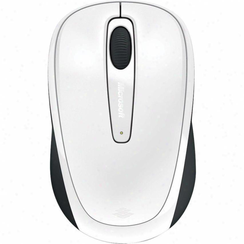 Microsoft Wrlss Mob Mse 3500-white Extenuate