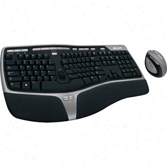 Microsoft Wta-00001 Natural Ergonomic Desktop 7000 Keyboard And Mouse Set