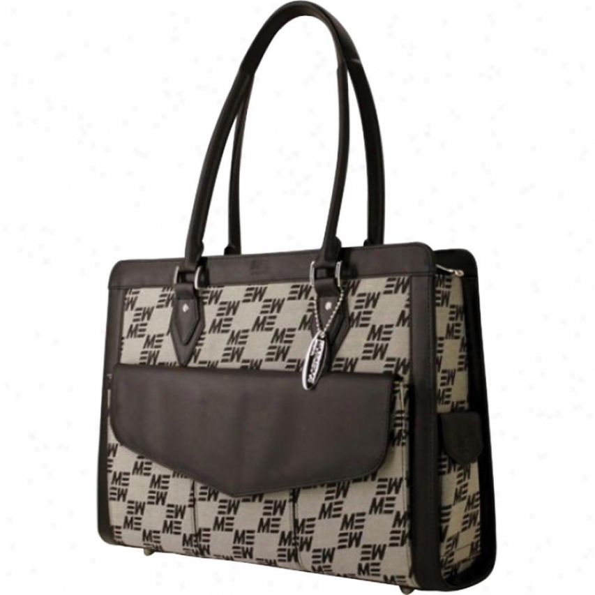 "Mobile Edge Geneva Jacquard 17"" Nb Bag"