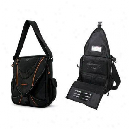 Mobile Edge Mini Messenger Black/orange