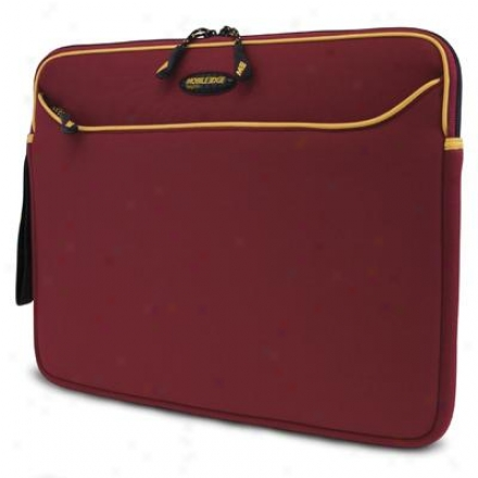 Mobile Edge Red/gold Neorene Sleeve-15.4""