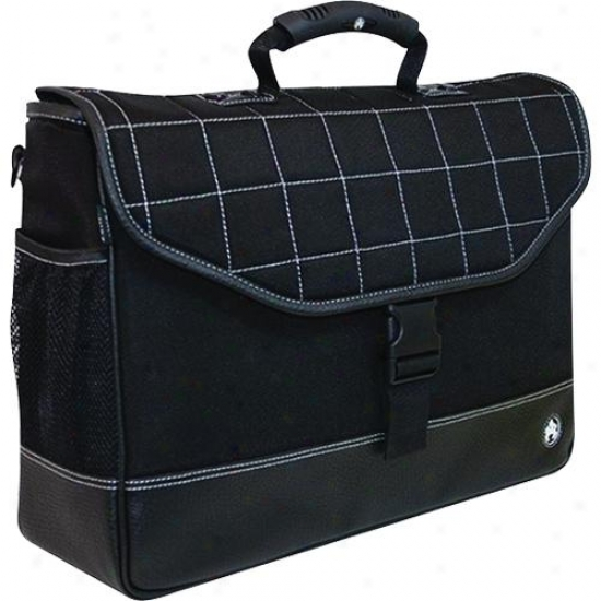 Expressive Edge Sumo Laptop Briefcase - Black - Me-sumo89101