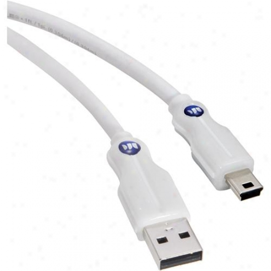 "Monster Cable 122174-00 Digital Life High Performance Mini Usb 6"" Cable"