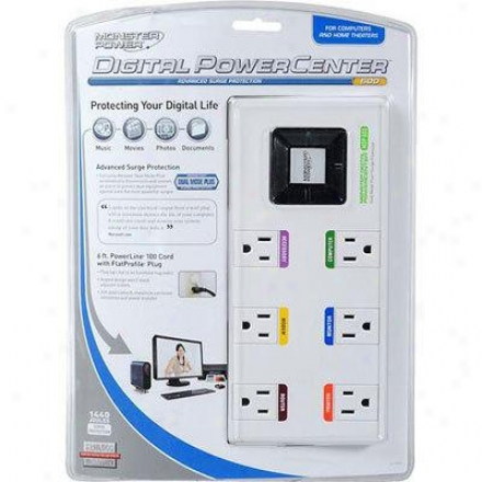 Monster Cable Digital Powercenter Mdp 600
