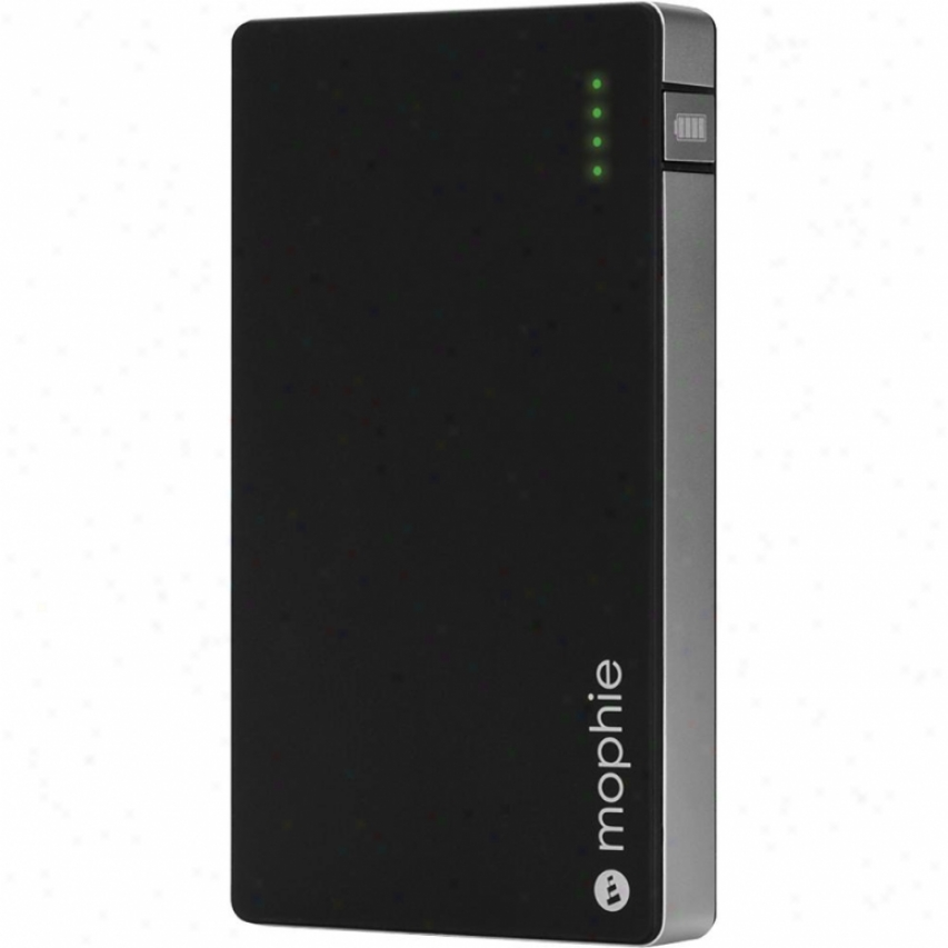 Mophie Juice Pack Pkwerstation For Iphone, Ipod, Ipad - Black And Silvery