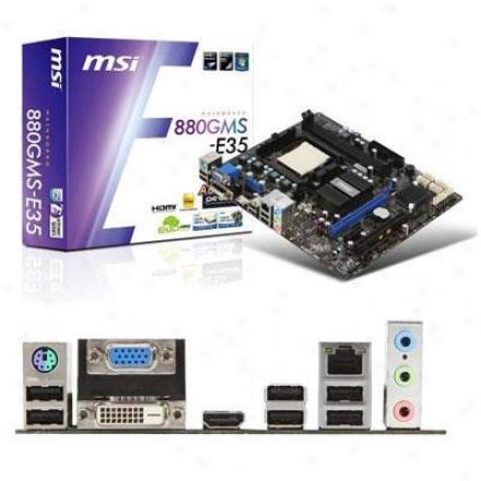 Msi Microstar Matx Am3 880g 2ddr3 Usb3.0