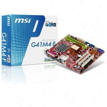 Msi Microstar Matx G41 Lga875 X4500 Ddr2