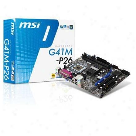 Msi Microstar Msi G41 Motherboard