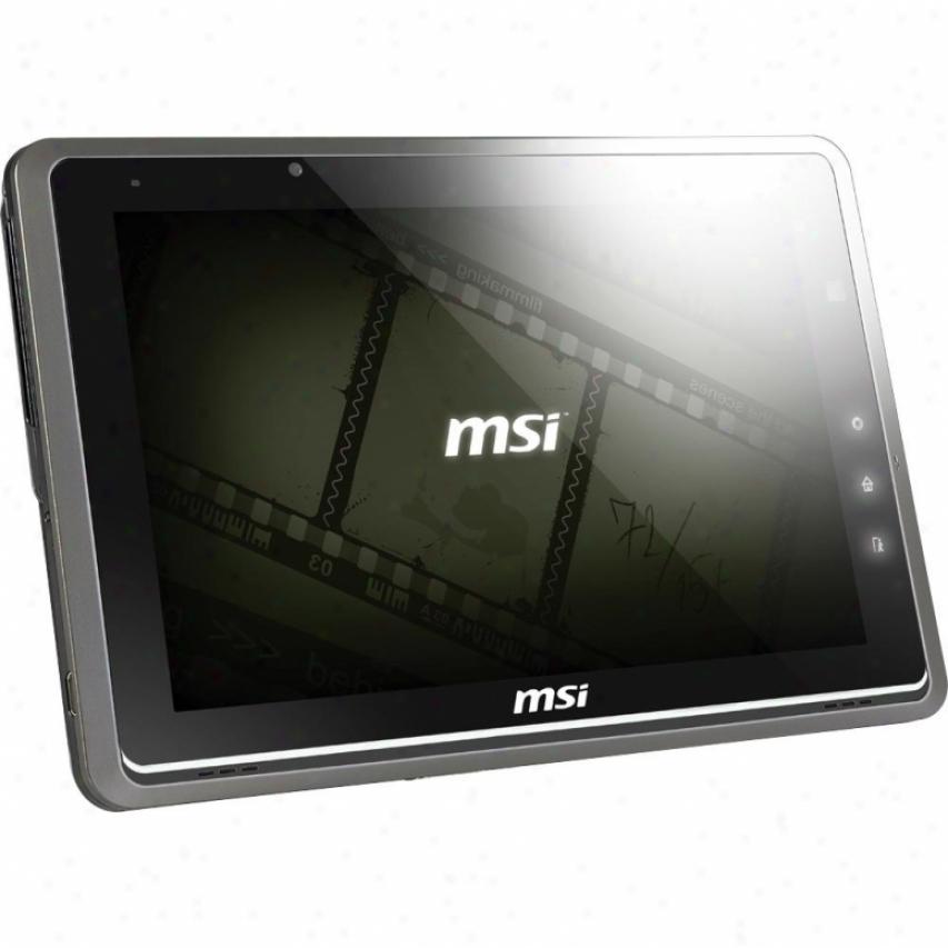 "Msi Microstar Windpad 110w 10"" Multi-touch Screen Tablet- 110w-014us- Dark Brown"