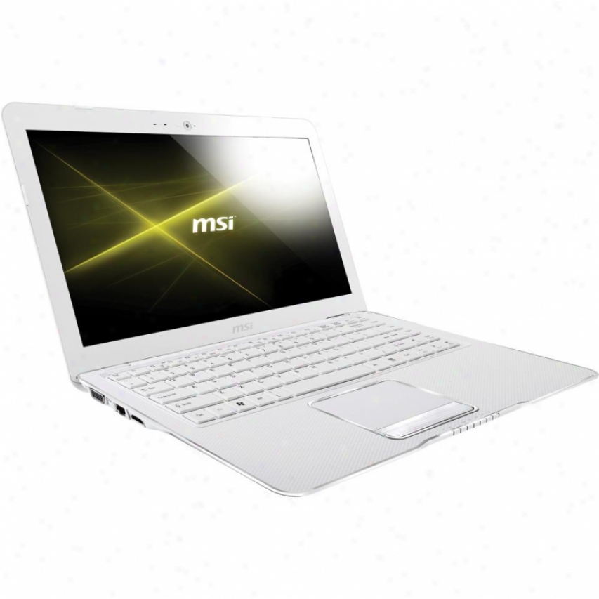 "Msi Microstar X370-206us X Series 13.4"" Slender Notebook Pc - White"