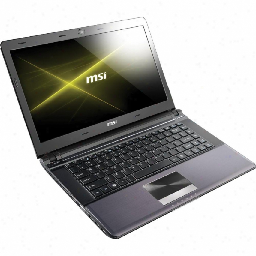 "Msi Systems 14"" Ultraportable Notebook Pc - X460-218us"