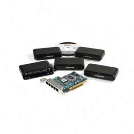 Ncomputing Xtenda X550 5-user Desktop Virtulaization Kit
