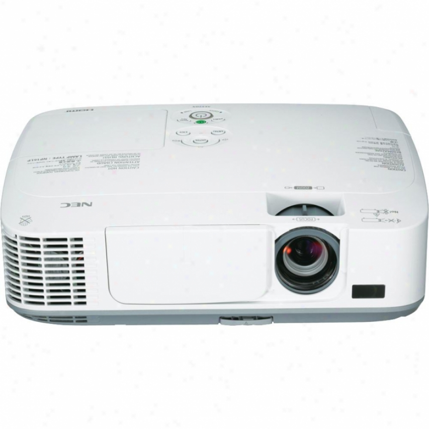 Nec Np-m300x Lcd Digital Multimedia Projector