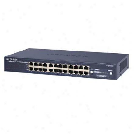 Netgear Switch 24-port 10/100/1000mbps
