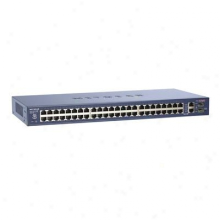Netgear Switch 48-pt 10/100+2-pt 1000m