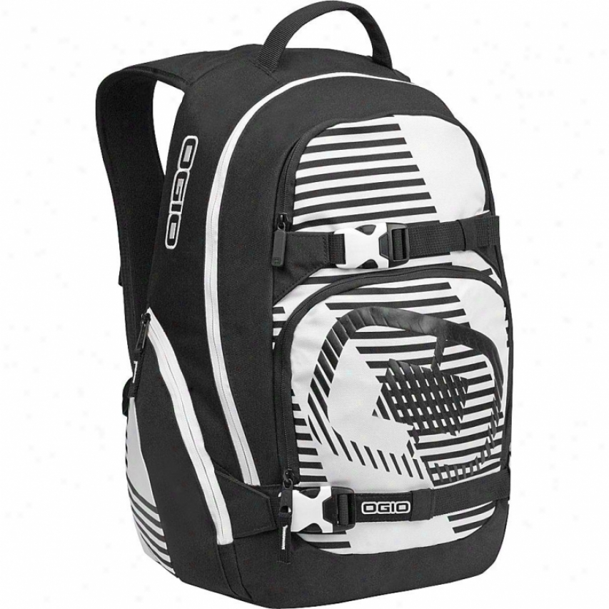 Ogio Lucas Backpack - White Stripes - 111049-634